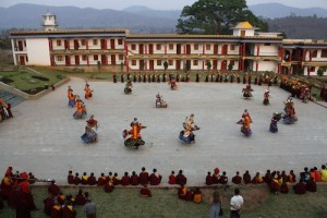 lama-dances-at-padmasambhava-vihar-in-orissa